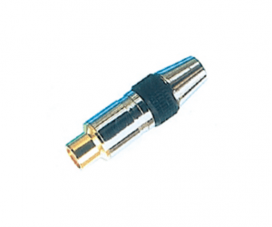 PH7-2206 RCA JACK METAL GOLD  PLATED HEAD