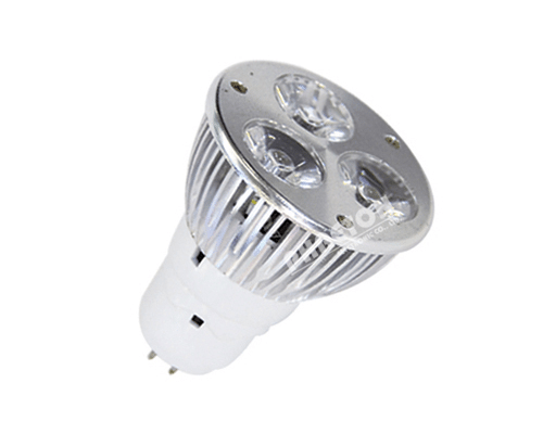 Rapid Delivery for LED Spotlight GU10 3*1W 110-240V for South Africa Factory