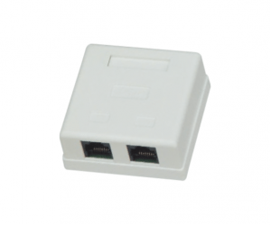 PH7-5009 DOUBLE RJ45 (8P8C) BOX