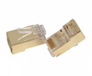 PH7-5022 A: CAT5 MODULAR kuziba 8P8C B: CAT6 MODULAR kuziba 8P8C GOLD SHIELD
