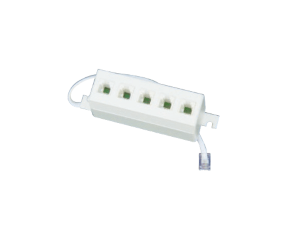 China wholesale PH7-5035 A:6P4C 5WAY SPLITTER WITH CORD B:6P4C 5WAY SPLITTER WITH CORD for Nigeria Manufacturers