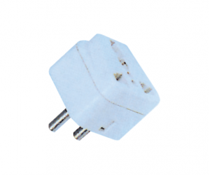 PH7-6063 2P AC ROUND PLUG TO  MULTI USAGE JACK
