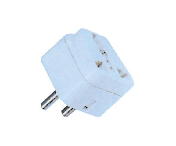 Factory directly PH7-6063 2P AC ROUND PLUG TO  MULTI USAGE JACK for Naples Factories