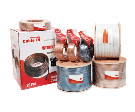 Factory Outlets RG6 Coaxial Cable Wholesale to Ireland