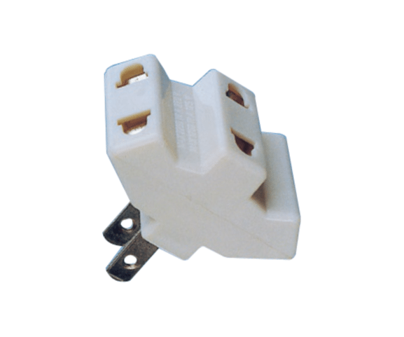 Good Wholesale Vendors  PH7-6059 2P AC FLAT PLUG TO  3×AC JACK to Iraq Manufacturers