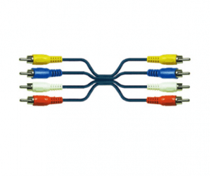 PH7-1036 4RCA MALE TO 4RCA MALE CABLE