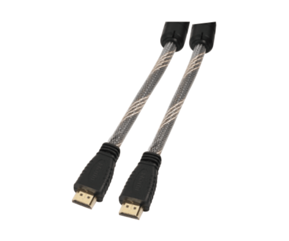 Original Factory PH7-4018 HDMI A MALE TO  HDMI A MALE WITH FERRITE NILON  BRAID CABLE to Belize Factories