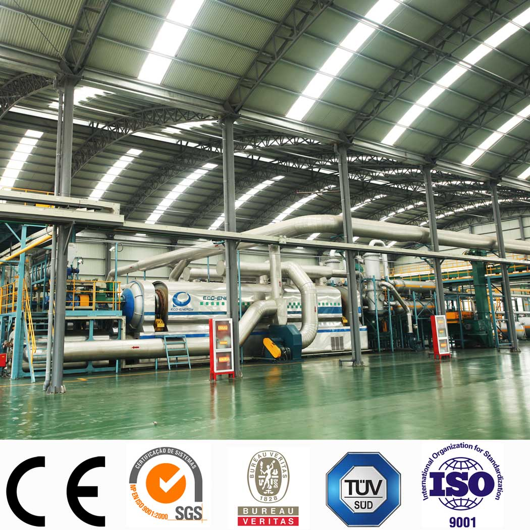 China Cheap price Pyrolysis To Fuel - Latest technology Continuous Waste Tire Pyrolysis Fuel Oil Plant with CE/TUV/SGS – Niutech Environment