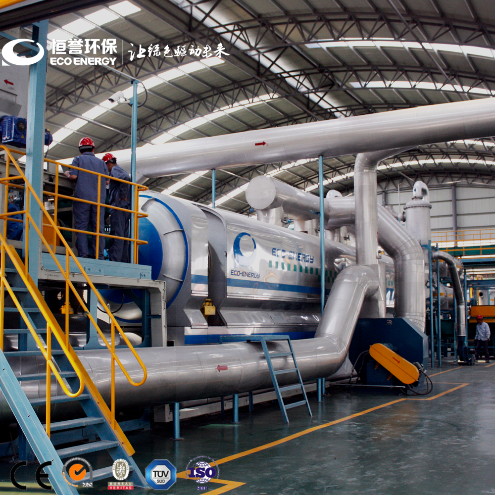 OEM Manufacturer Rubber Tyre Powder Recycling Plant - Waste Plastic Pyrolysis to Oil Machine with CE & TUV – Niutech Environment