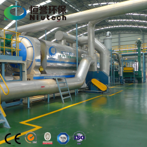 Waste Plastic Pyrolysis Machine with Fully Continuous Operation