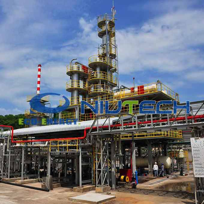 New Fashion Design for Oil Refining Plant - Oil Distillation System with Best High-Quanlity Products – Niutech Environment