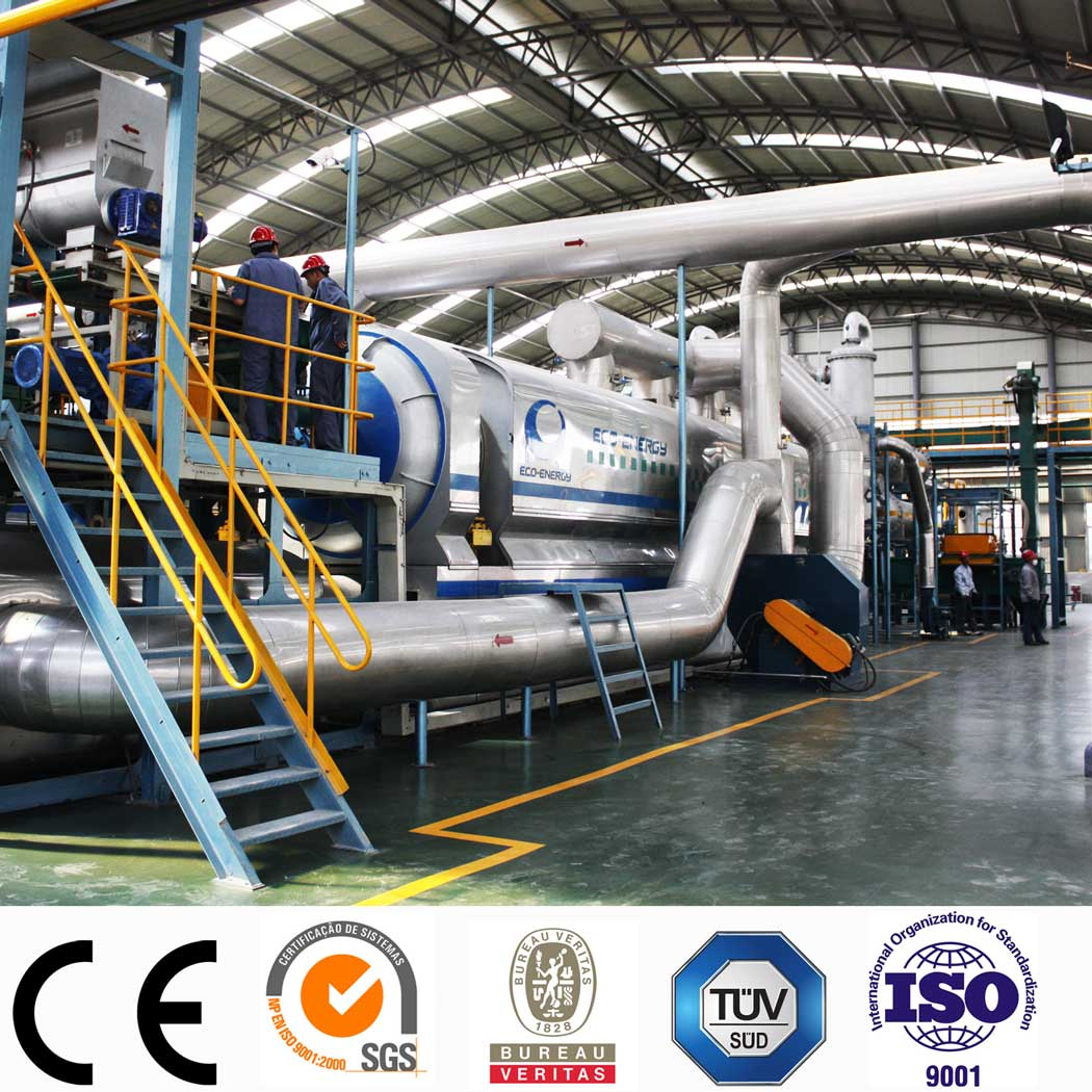 Europe style for Tyre Oil Pyrolysis Plant - Latest technology Continuous Waste Tire Pyrolysis Fuel Oil Plant with CE/TUV/SGS – Niutech Environment