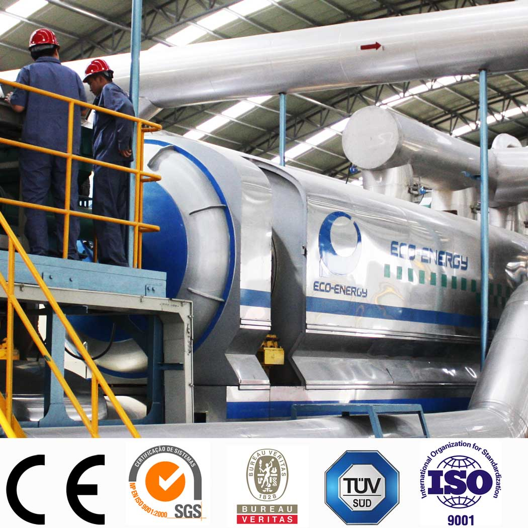 Reliable Supplier Mini Crude Oil Refinery Plant - Latest Technology of Industrial Continuous Waste Tyre Pyrolysis Machine with CE/TUV/SGS – Niutech Environment