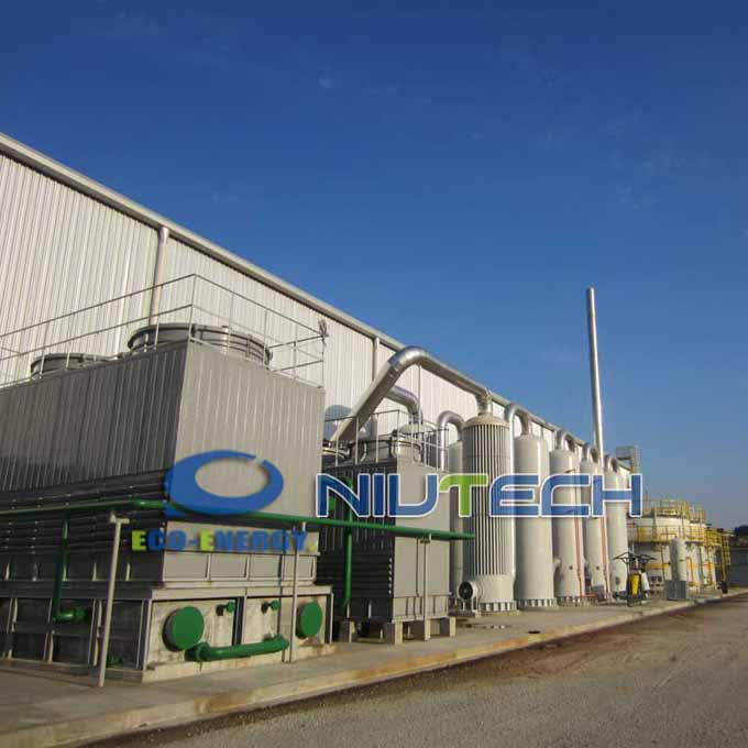 Factory source Pyrolysis Disitllaiton Plant - Industrial Continuous Waste Plastic Pyrolysis Production Line – Niutech Environment