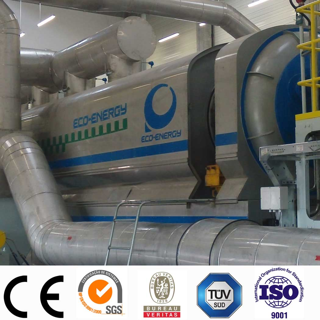 Industrial Continuous Waste plastic Recycling & Pyrolysis Equipment