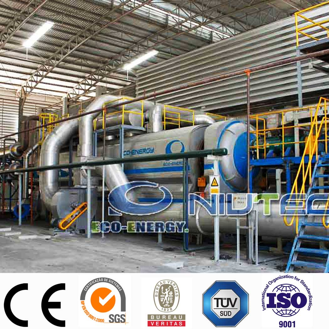 High Performance Tyre Cutting Equipment - Industrial Continuous Waste Plastic to Fuel Oil Pyrolysis Plant – Niutech Environment