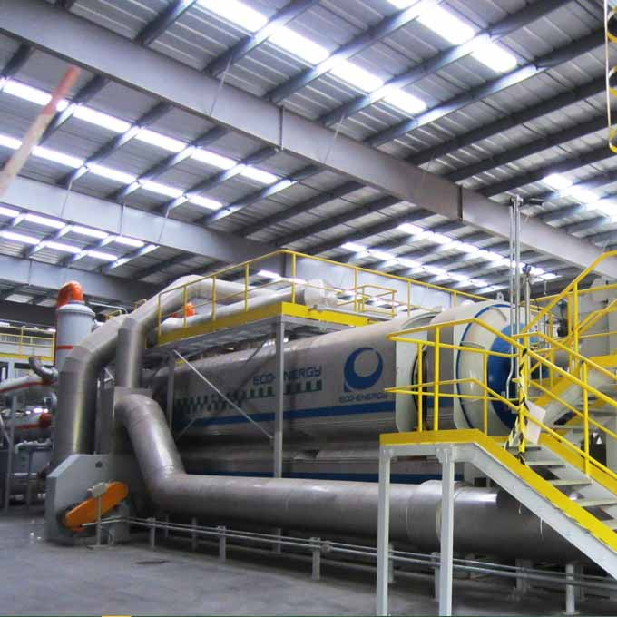 2017 wholesale price Scrap Tyre Recycling Production Line - Waste Plastic Pyrolysis Plant  Best High-Quanlity Products – Niutech Environment