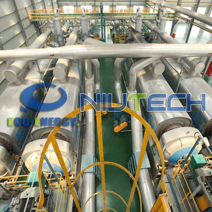 Industrial Continuous Scrap Tire Pyrolysis Equipment