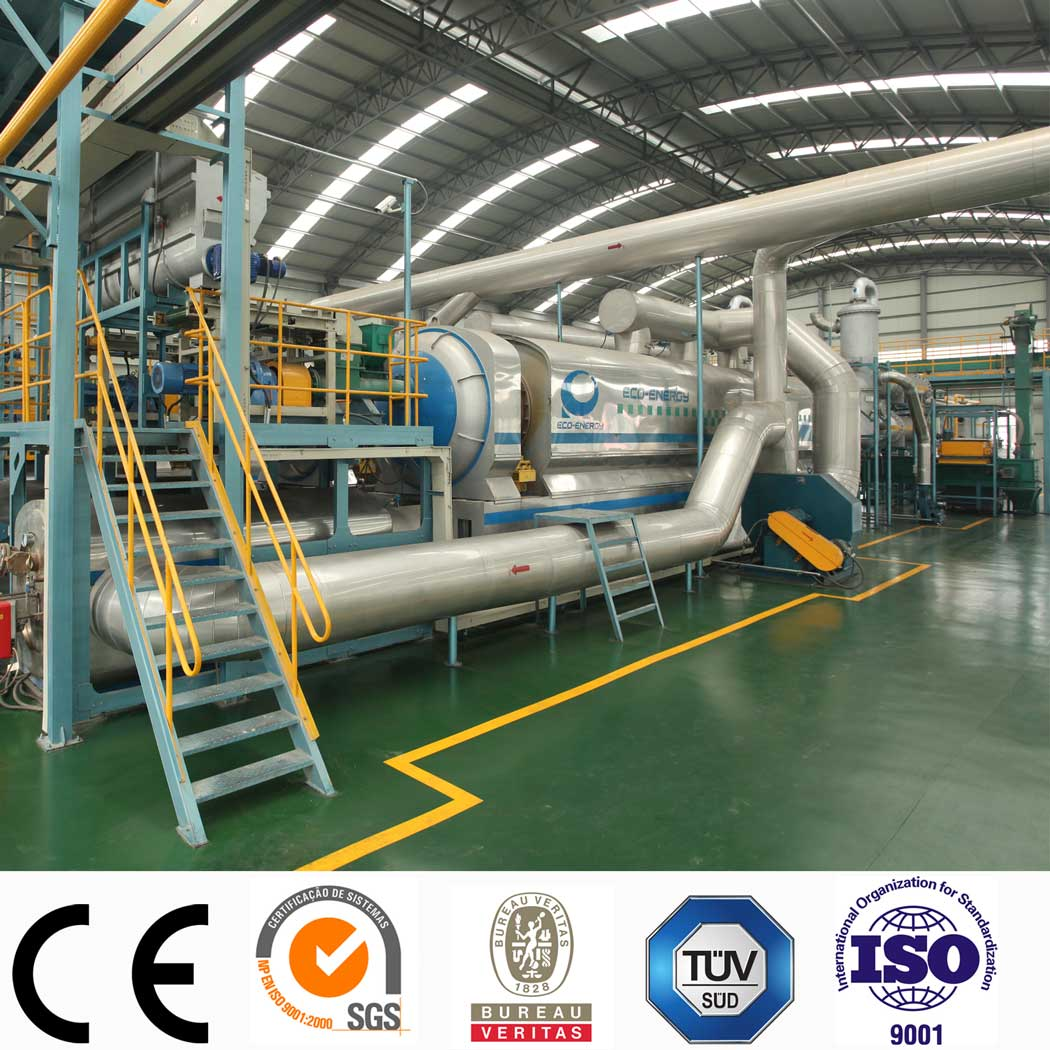 OEM Manufacturer Waste Tire Pyrolysis Equipment - Fully Continuous Waste Rubber Recycling Pyrolysis Machine – Niutech Environment Featured Image