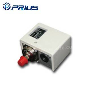 White Pneumatic Aka gyara -0,5 ~ 30Bar Single Matsa lamba Switch Manual / Auto Sake saitin