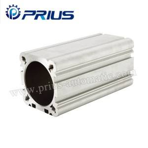 DNC Aluminium Pneumatic Cylinder Tube , Air Cylinder Tubing With Bore 32mm – 125mm