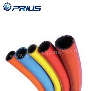 Yüksək təzyiq Gas Pneumatic Air Tubing PVC Synthetic Fiber Reinforced Hose 1 Mpa - 2Mpa
