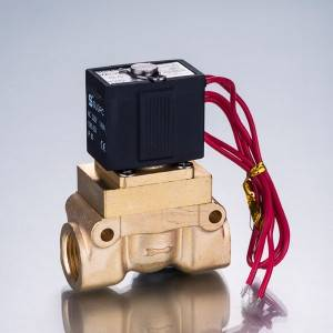 5404 Series High Pressure, Ubushushu High Solenoid Valve