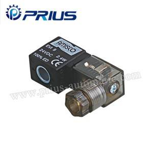 100 Series 24vdc Pneumatic Solenoid bawul nada Da Junction Box Waya Gubar
