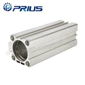 SDA Air Cylinder Accessories Bore 12mm - 125mm Tube 13.50Kgf / Cm² Aluminum Cylinder
