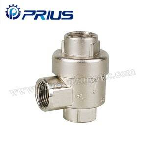 Big Size Air Flow Control Valve Xq Series Quick Exhaust Valve Brass / Sink Alloy Body