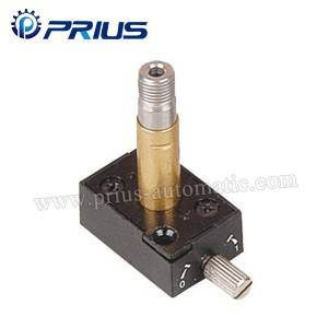 Aluminum Alloy Brass Pneumatic Solenoid bawul Plunger kaya Guide Head 100 ~ 400 Series