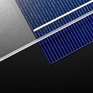 3mm 3.2mm 4mm high transmittanc clear patterned tempered solar glass panel