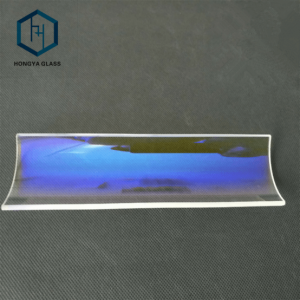 Dichroic Quartz Glass UV Cut IR Pass UV Cold Mirror For Coating