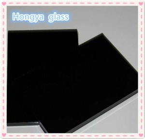 4mm 5mm 6mm 8mm 10mm Float Tinted Black Sheet Glass Panels
