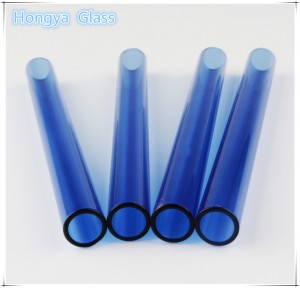 Borosilicate 3.3 Colored Glass Tube transparent color glass tubing