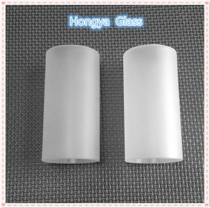High Quality Frosted Milky White Borosilicate Glass Tubes
