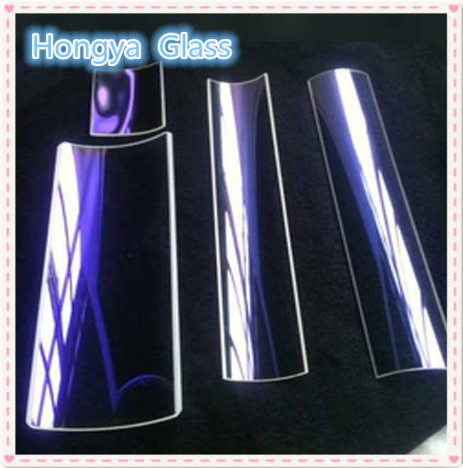 Half Round Optical Quartz Glass Tube Featured Image