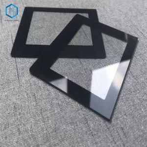8mm 10mm color silk screen printing tempered glass manufacturers