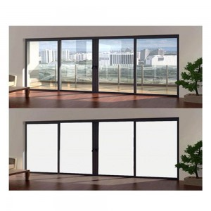 Switchable Electric film Privacy Glass Film PDLC smart Glass Film for window