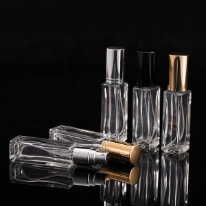 TOP QUALITY 50ml Glass Empty Perfume Bottles Spray Atomizer Refillable Bottle