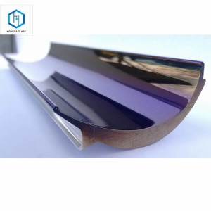 UV dichroic coatings on metallic reflectors