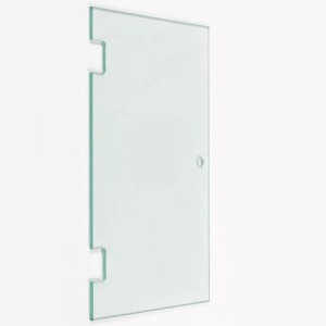 8mm 10mm 12mm Tempered Clear Glass Door for shower room