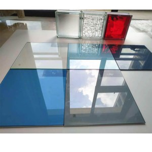 Table Top Window Building Wall 6 MM 3300*2140 Ford Blue Tinted Float Glass
