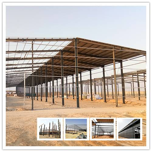Steel workshop in Egypt