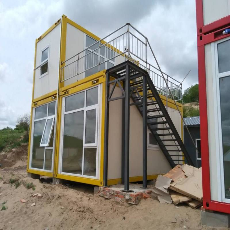 Flat Pack Prefab Container Hus Living Featured Image