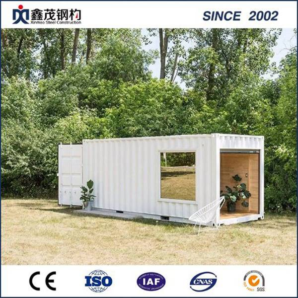 20 FT iliyorekebishwa Shipping Container House kwa ajili ya idara Single na Bathroom