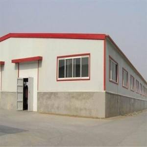 Prefabricated Steel Structure Industrial Building (Steel Frame)