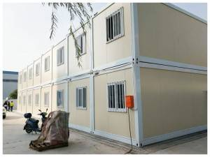 Portable modular Steel Container House maka Single Family