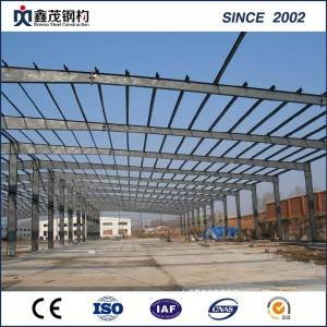 China Prefabricated Construction Factory/ Light Steel Structure Building for Warehouse