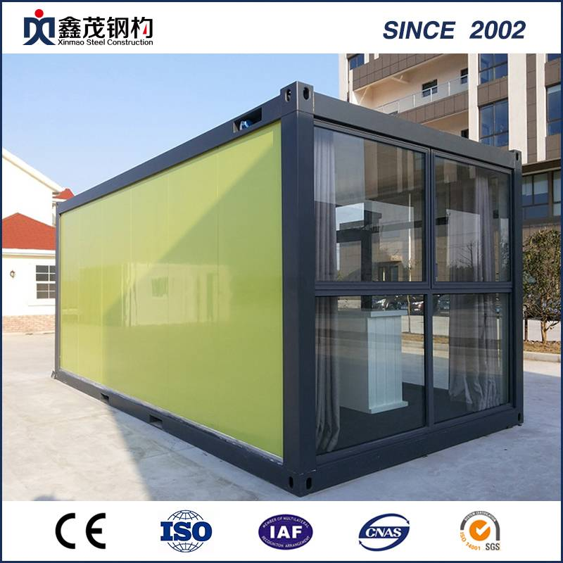 China Fast Installation Folding Container House for Labor Camp